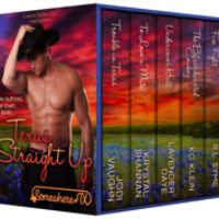 99 cents this week ONLY! Brand new Texas Straight Up Box Set