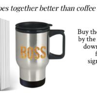 Free Book. Cool Mug